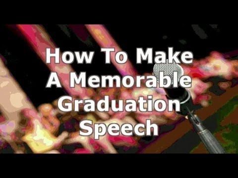 How to Write a Valedictorian Speech (with Pictures) - wikiHow - graduation speech examples