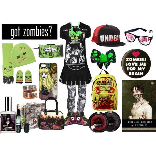 """Zombie Rock"" by redbutterfly555 on Polyvore"