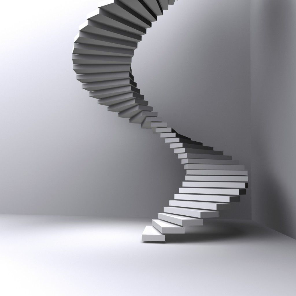 Ordinaire The Beauty Of Spiral Staircases