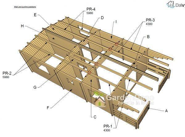 Photo of Bungalow in legno prefabbricato modello type-2 | Gardendeco
