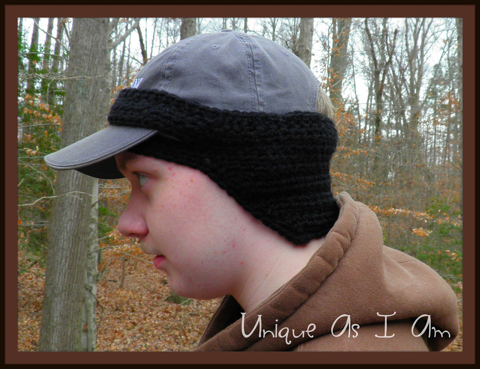 Baseball Cap Ear Warmer pattern by Susan Preston | Ear warmers ...