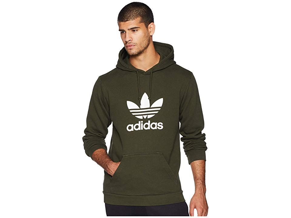aa152108 adidas Originals Trefoil Hoodie (Night Cargo) Men's Sweatshirt ...