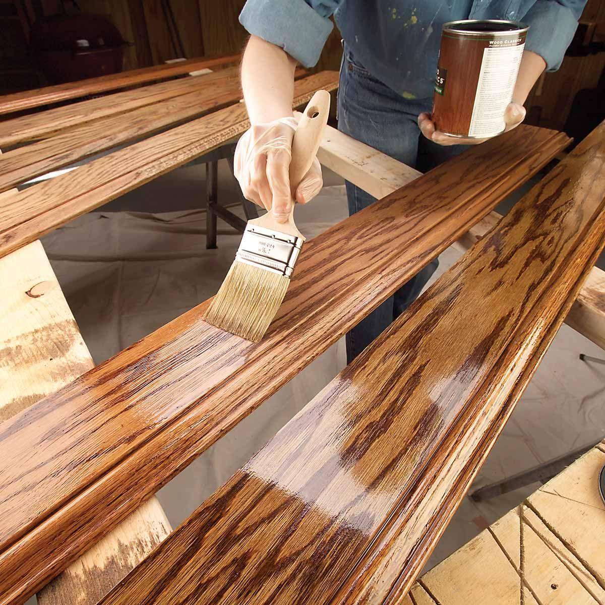 11 Tips on How to Finish Wood Trim | Proyectos de madera, Muebles de ...