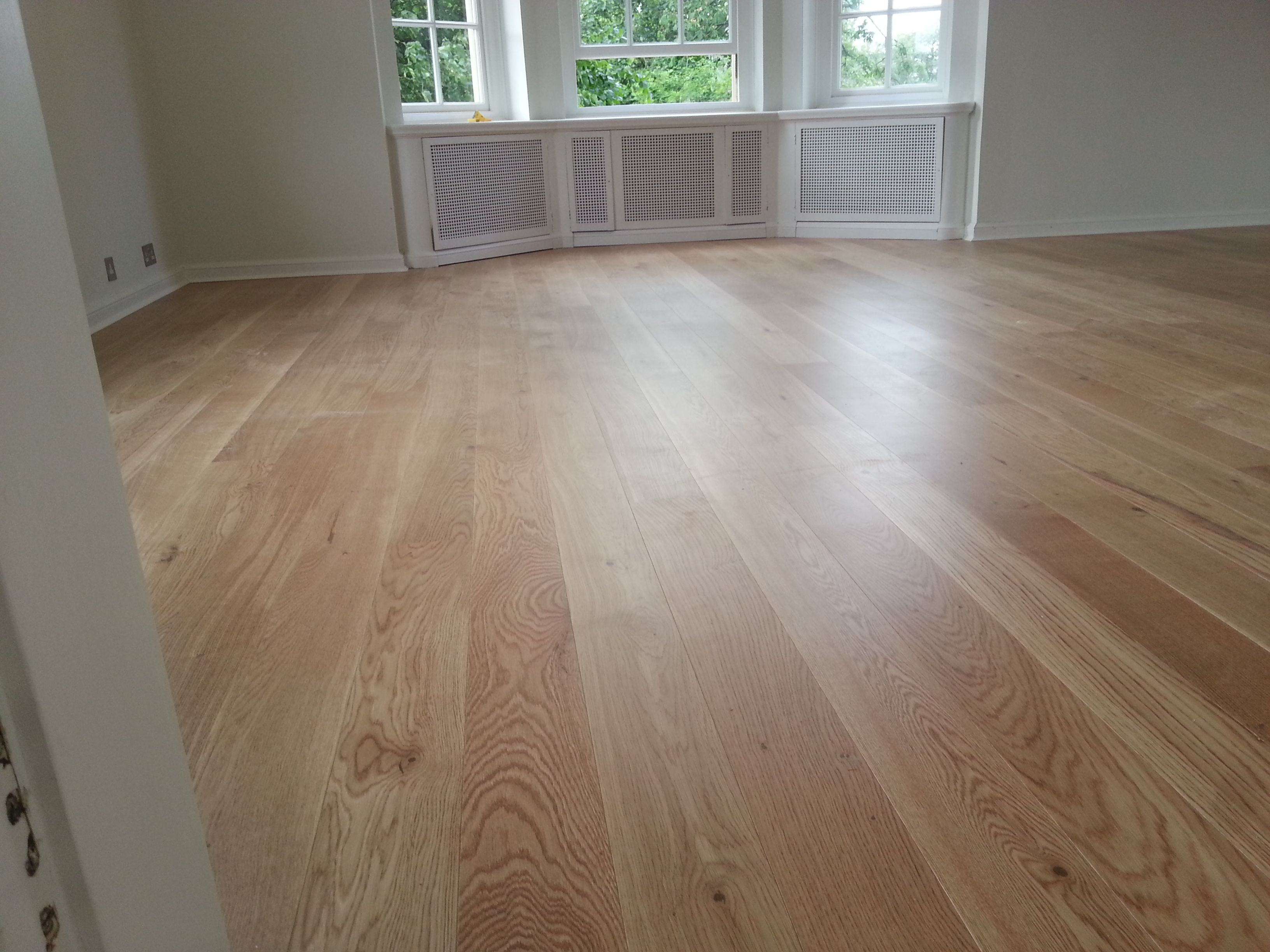 160mm Unfinished Solid Oak Wide Planks 20mm Thickness