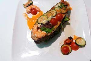 Una receta de berenjena rellena de verduras realizada fácilmente con tu Thermomix. Un plato light y saludable sin necesidad de guisar en horno ni bechamel