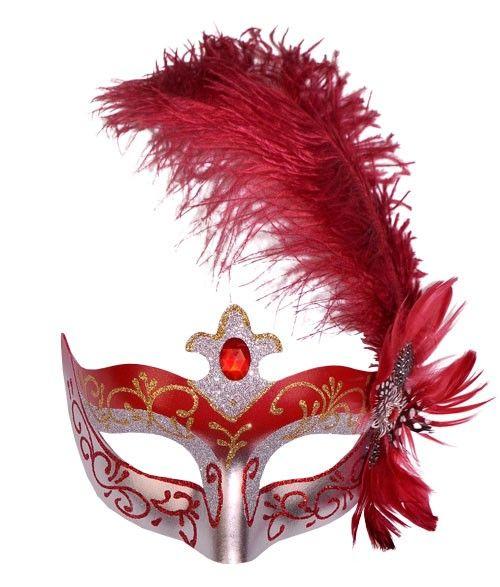 Pretty Masquerade Mask Novelty Skirt