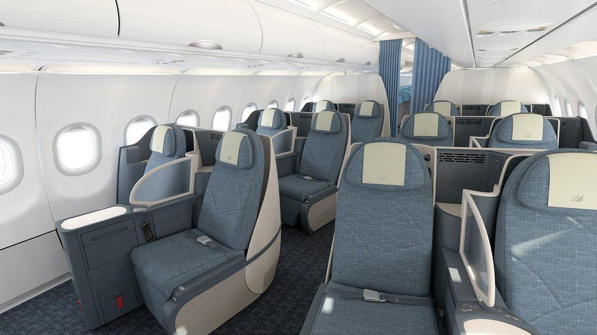 Philippine Airlines New Business Class Business Class Airline Economy Business Class Seats