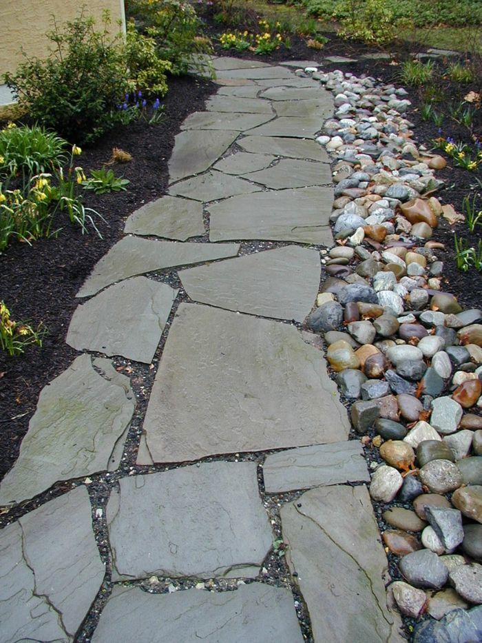 136 Moderne Gartengestaltung Beispiele Wie Sie Boden Und Gartenwege