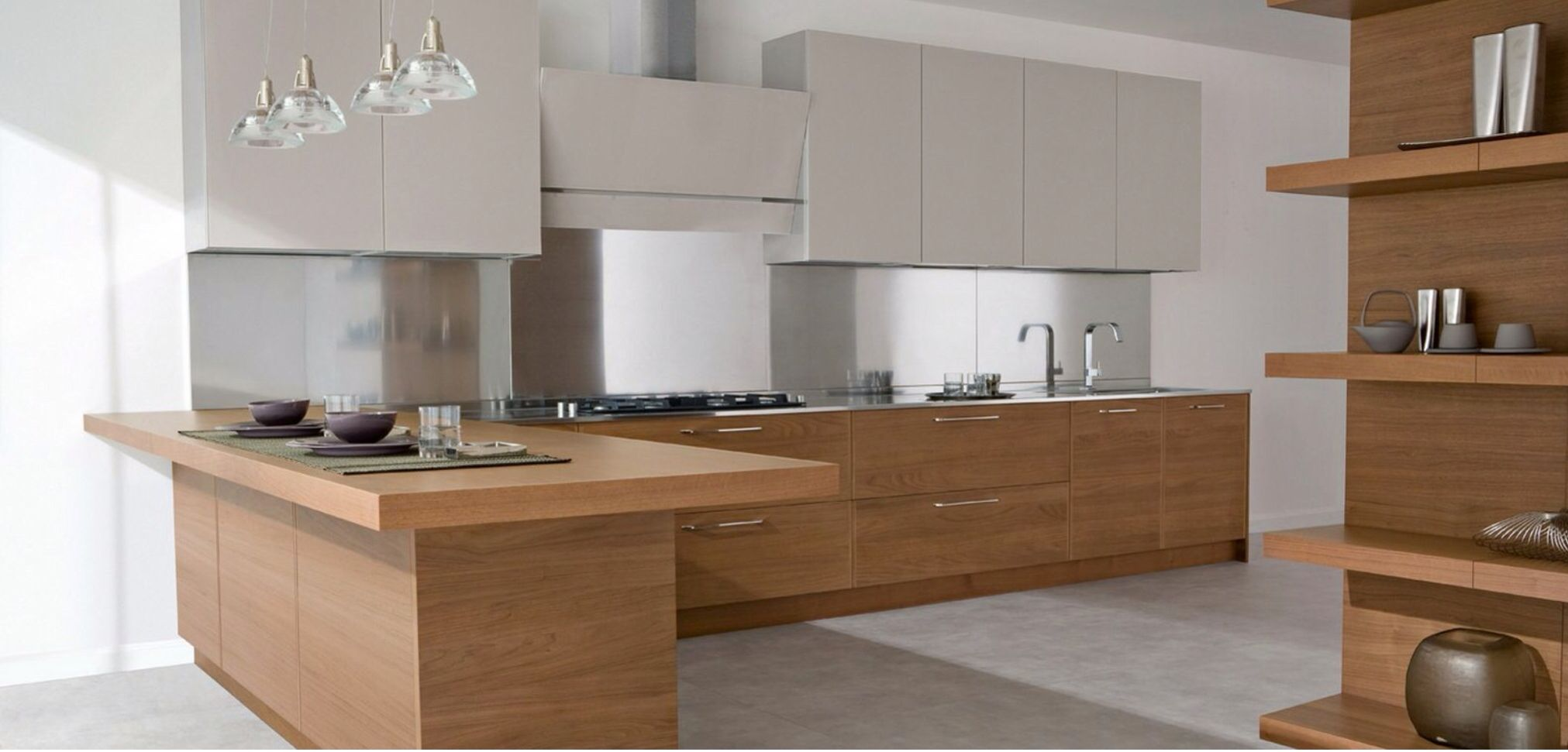 Furniture, Contemporary Kitchen Design Looks Great Apply Modern Kitchen Cabinet