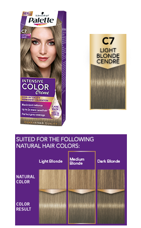 Blond Cendré Palette