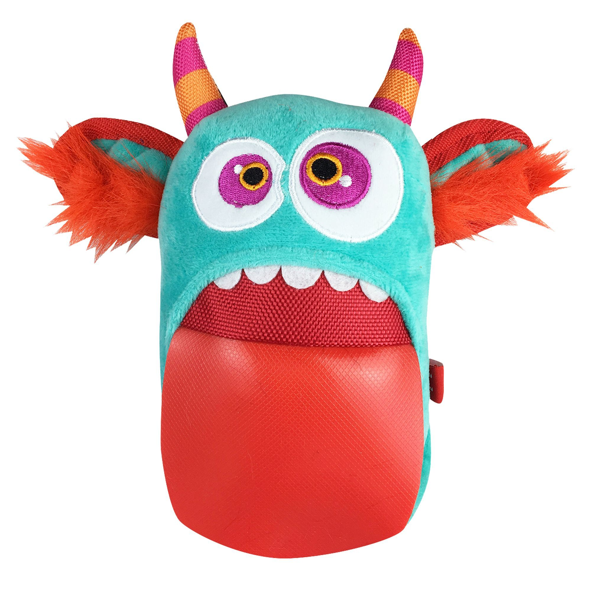 Mega Plush Tongue Monster Dog Toy Squeaker Treat Dispensing