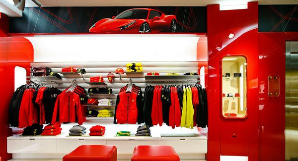 New Ferrari Store Opens in Athens, Greece, More to Come #newferrari
