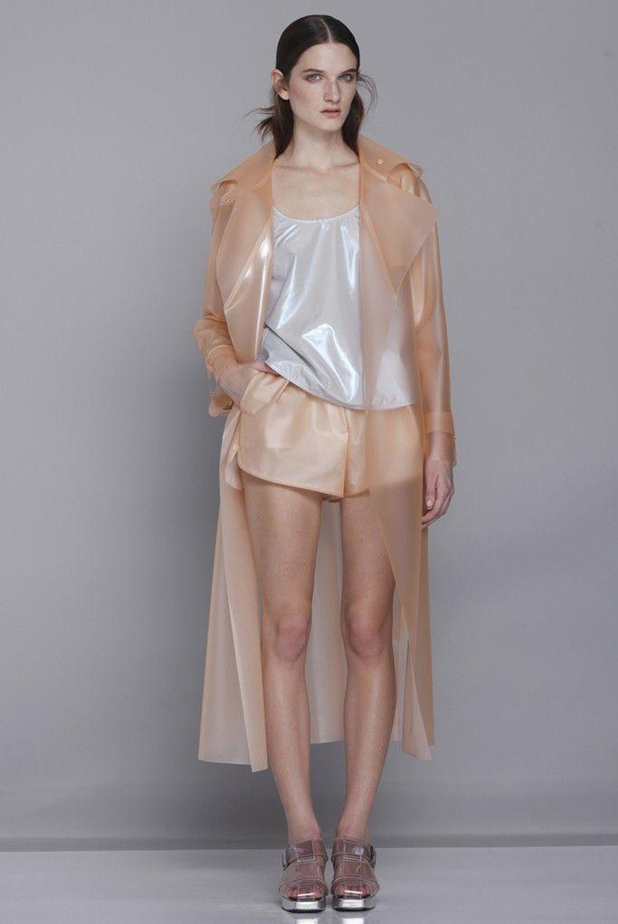 8c4e4ad82d7d61 Wanda Nylon RTW Spring 2014   Spring Fashion Trends   Fashion, Rain ...