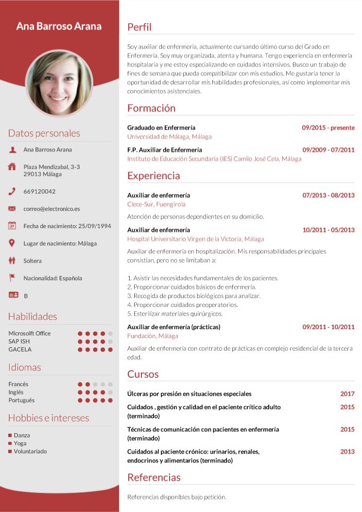 Image result for resumen profesional en espanol Crear un