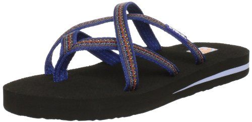 e06a2aaf726c21 Teva Womens Olowahu Flip FlopSudan Blue10 M US   You can find more details  by visiting the image link. (This is an affiliate link)   WomensFlipFlopsSandals
