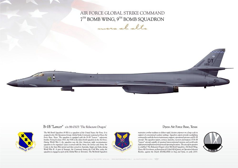 Air Force Inspects B 1 Bombers