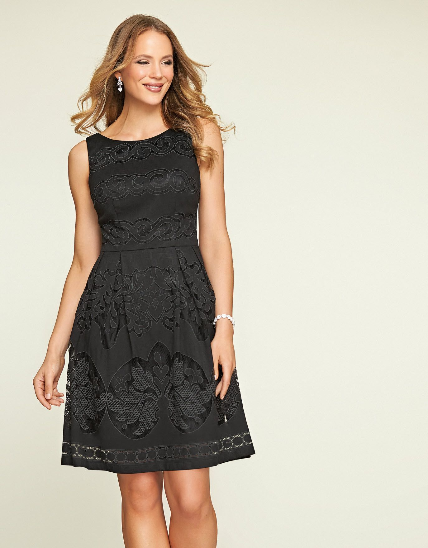 90c688d2e8ec Lace Prom Dress in Black by Pepperberry | fall style | Pinterest