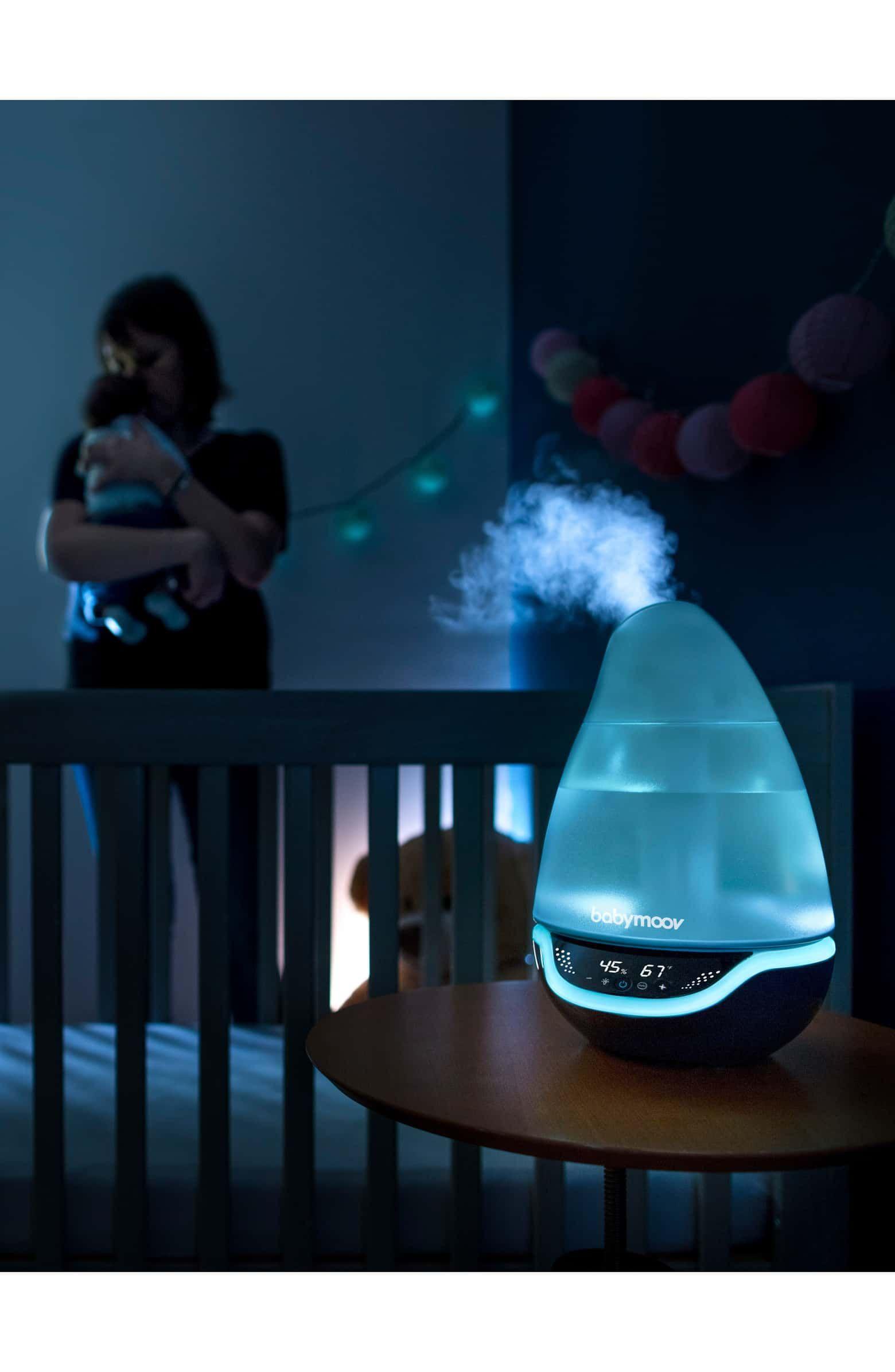 Hygro Humidifer Alternate Color Grey Babymoov Humidifier Cool Mist Humidifier