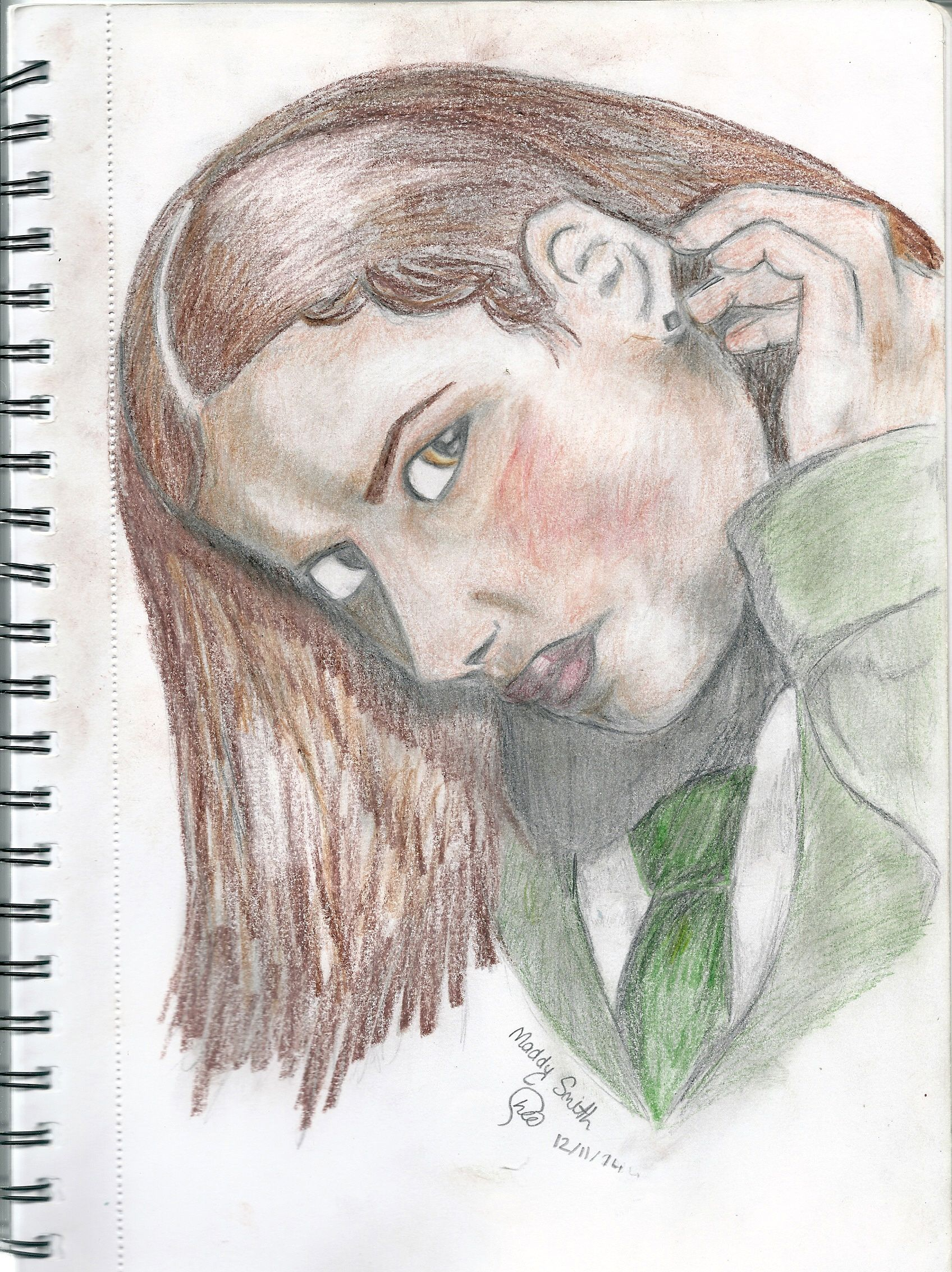 My Drawing Of Maddy Smith From Wolfblood D