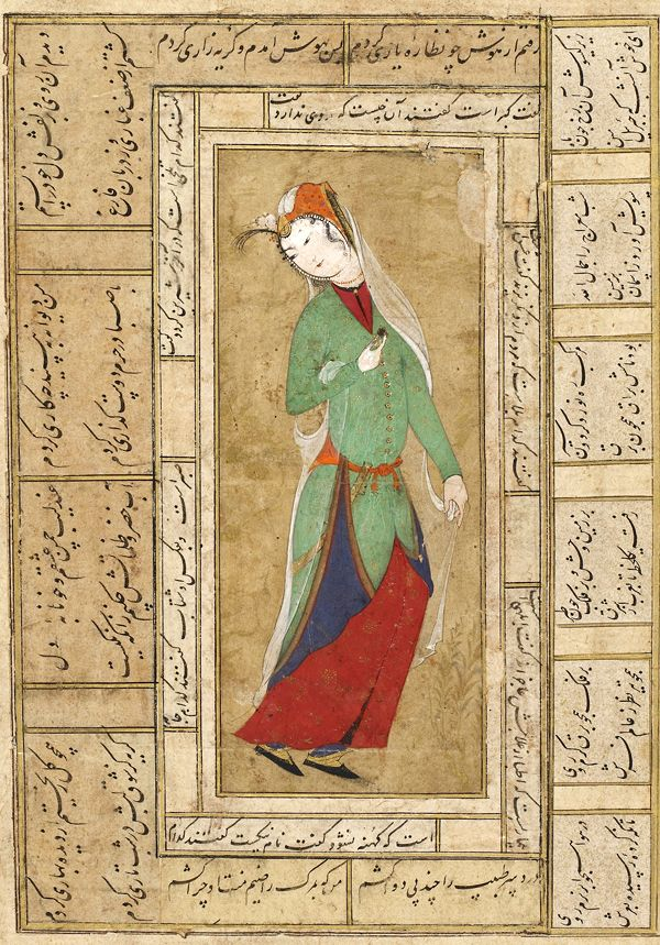 Ancient Islamic Art Paintings