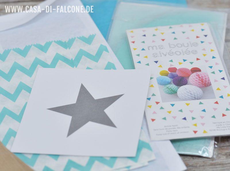 Aufkleber, Stempel, Tüten, Schachteln, Bänder, Bäckergarn, Masking Tape ... alles von www.casa-di-falcone.de
