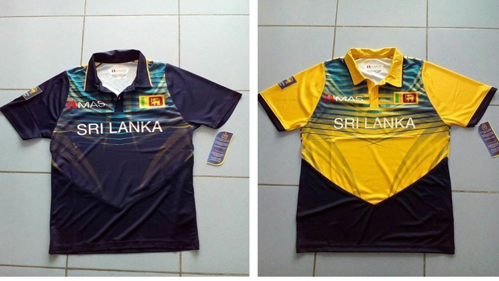 4b554bc1b Sri Lanka Cricket Team ICC Champions Trophy 2017 Replica T-shirt / Jersey  by MAS #Reborn