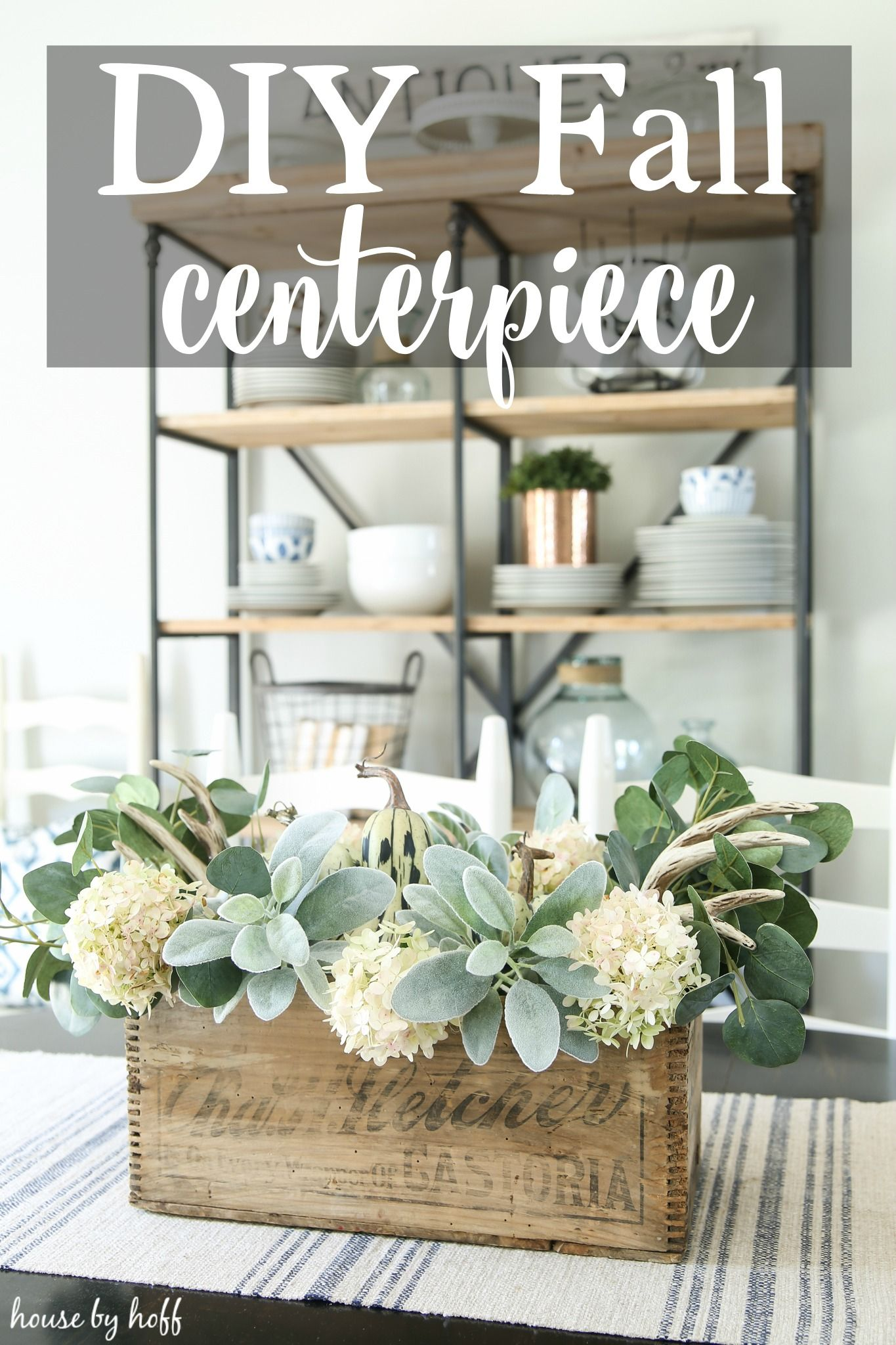 DIY Fall Centerpiece   Centerpieces, House and Decorating