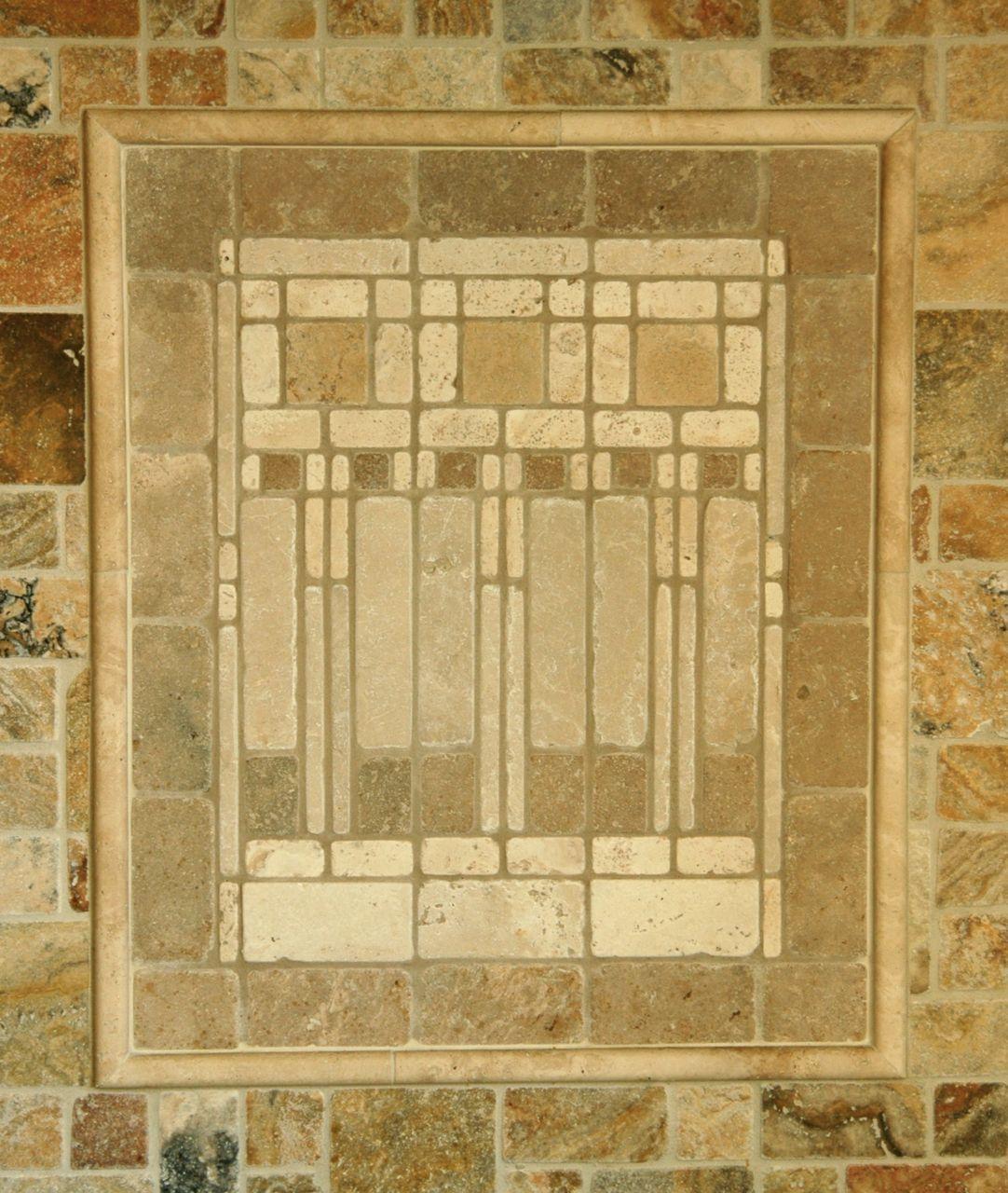 love FLW .. tile back splash | KITCHEN DREAMS | Pinterest ...