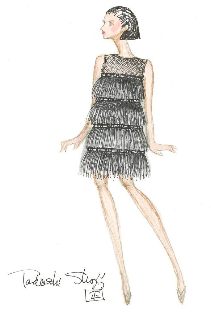 Tadashi Shoji. New York Fall 2015 Designer Inspirations: Part One - Slideshow