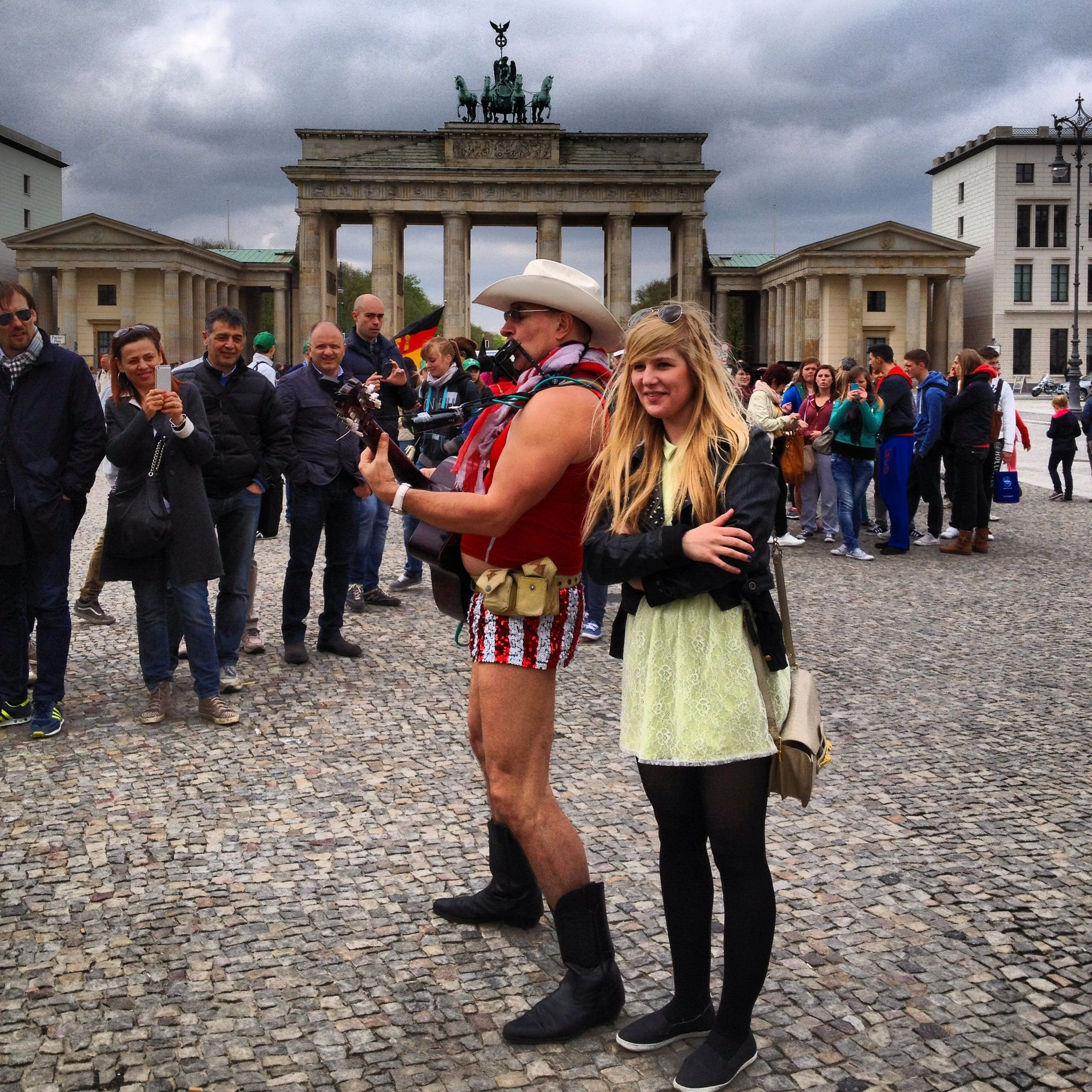 Pariser Platz-Great view of Brandenburg Gate and great also for people watching :)