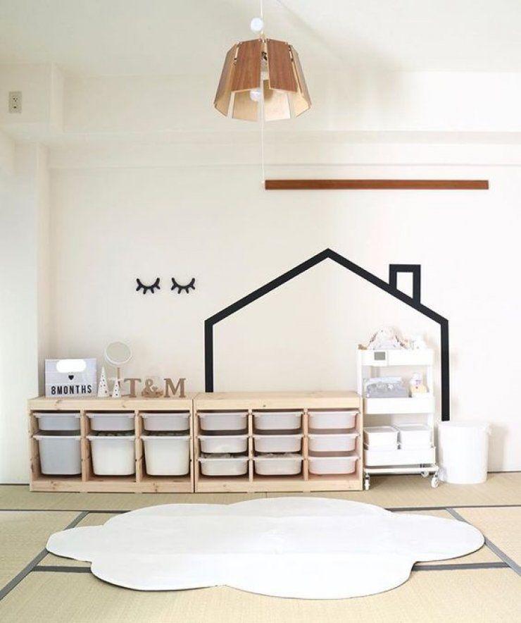 mommo design10 IKEA TROFAST HACKS Kinderzimmer speicher