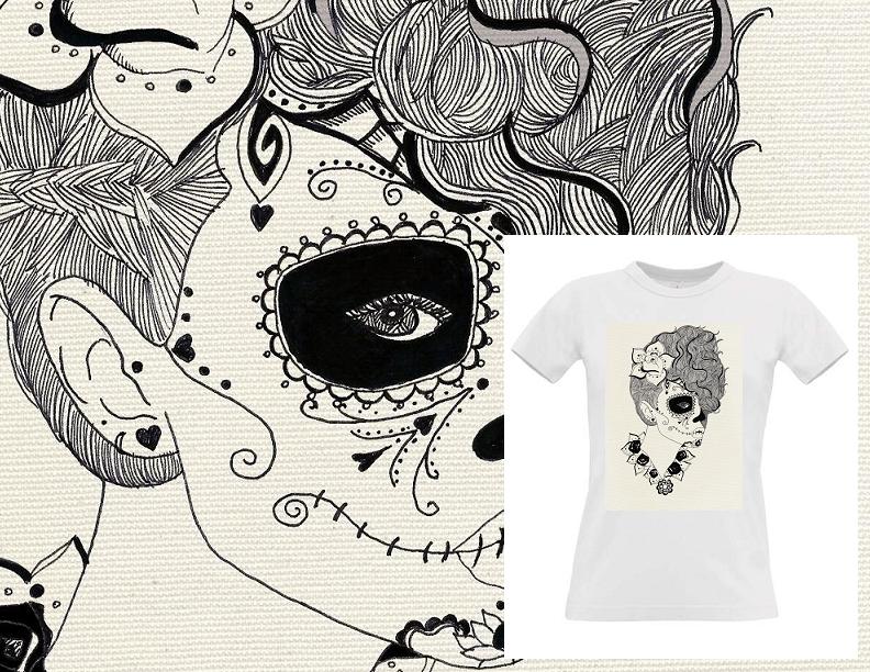 Código: #Ernestina  Talles: S M L XL  Color: Blanco y Gris Claro Precio: $390.