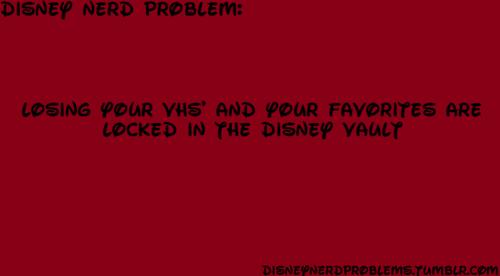 Disney Nerd problems