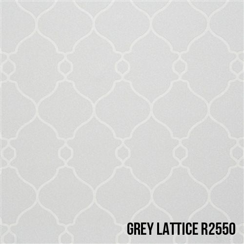 50 Shades Of Grey Wallpaper Classic Trellis In Shade