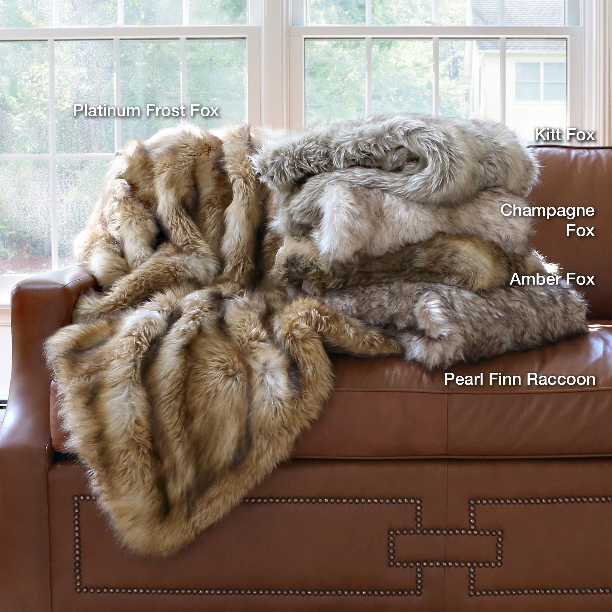 18a0eed9b0 Amazon.com - Best Home Fashion Champagne Fox Faux Fur Full Throw Blanket  58