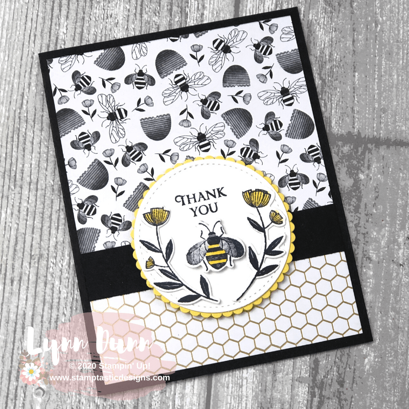 2 Card Designing Tips - Stampin Up Honey Bee | Lynn Dunn