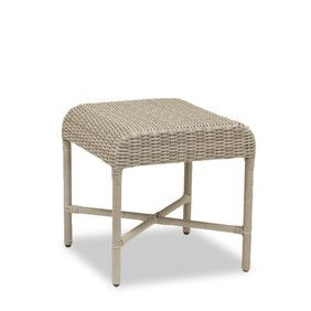 Wicker Outdoor End Table | Melrose Collection