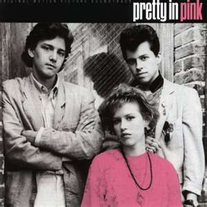 """""""Pretty in Pink"""": a favorite 80's movie.  ( I love 80's music and movies...)"""