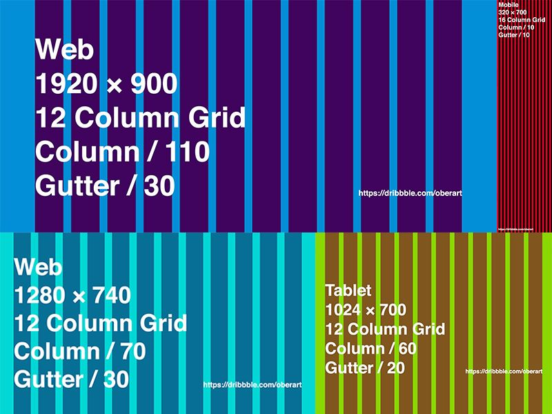 Responsive Grids Freebie Download Photoshop Resource Psd Repo Responsive Grid Grid Figma