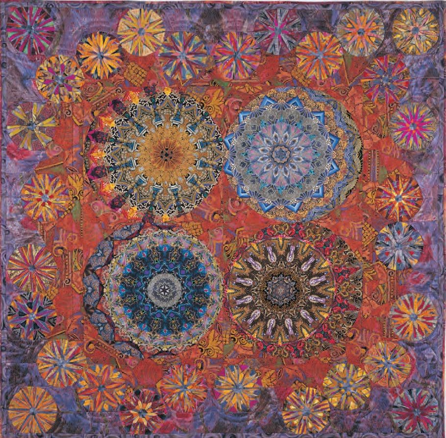 Pin von Eclectic Oddities auf Quilts: Kaleidoscopes..Paula ...