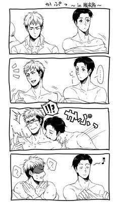 Yaoi Pictures ((Book 1)) - Jean x Marco smut