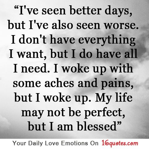 My Life May Not Be Perfect But I Am Blessed Thankful Quotes Quotes Inspirational Words