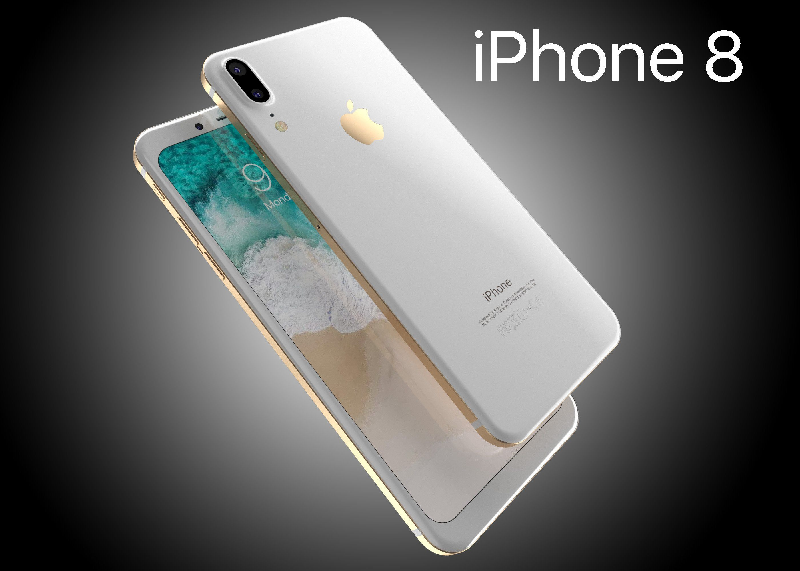 Iphone8 Leak Corner Edges Iphone Iphone 8 Concept Apple Iphone