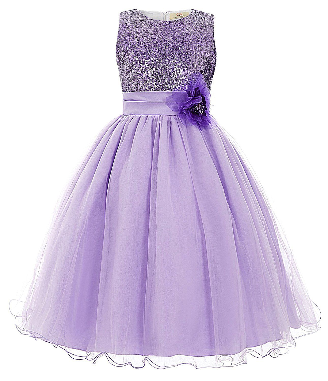 Grace Karin® Maedchen Prinzessin Blumenmaedchenkleid Party Kleid ...