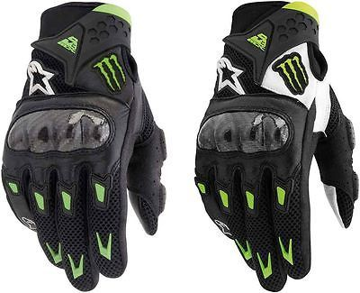 Alpinestars monster energy smx-2 m10 air carbon motocross gloves