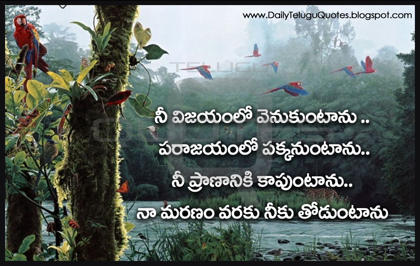 best friendship quotes in telugu hd life inspiration