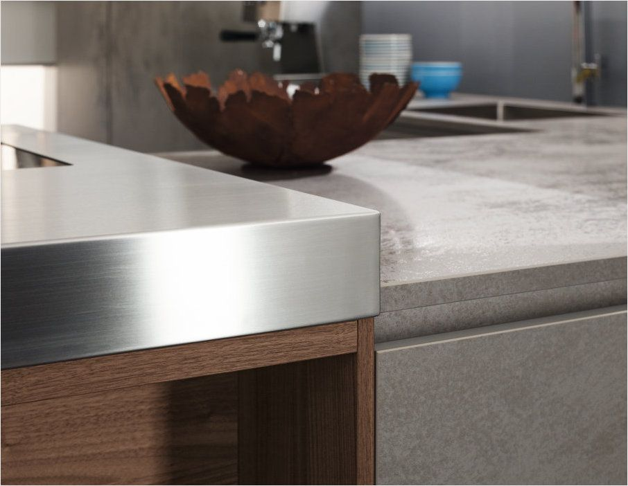 Material combination - Modern look kitchen design - The best - Alno