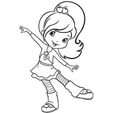 strawberry shortcake coloring pages characters - photo#30