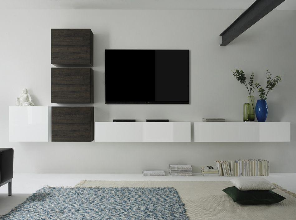 Lc Design Mobili Tv.Lc Mobili Modern Wall Unit Cube 7 Lq 1 769 00