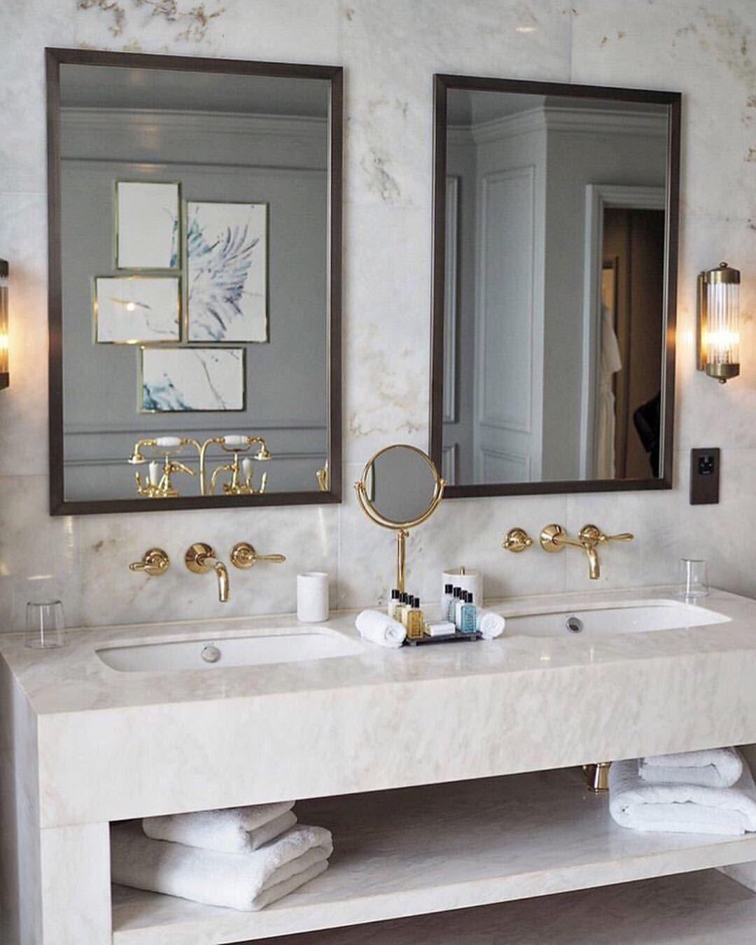 Elle Decor On Instagram Bathroom Goals Regram Fashionfoiegras At Lympstone Manor Interior Design Toilet Best Bathroom Designs Home Room Design Elle decor best bathrooms